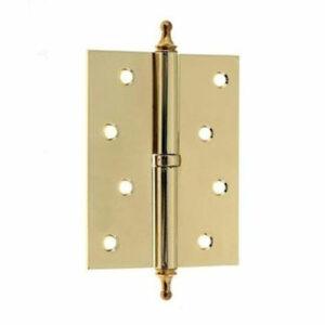 Петля дверная врезная левая и правая 100 мм 4IK L/R МЕТРО
