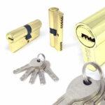 Цилиндровый механизм перфоключ-перфоключ C80 MRBOSS