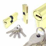 Цилиндровый механизм перфоключ-перфоключ со смещенным центром C80 35/45 MRB