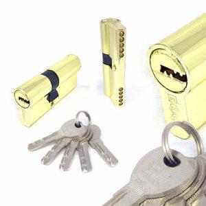 Цилиндровый механизм перфоключ-перфоключ со смещенным центром C90 35/55 MRB