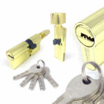 Цилиндровый механизм перфоключ-вертушка со смещенным центром CW80 35/45 MRB