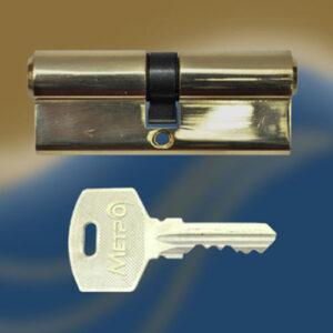 Цилиндровый механизм ключ-ключ N80 МЕТРО
