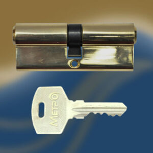 Цилиндровый механизм ключ-ключ N90 МЕТРО
