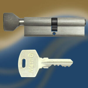 Цилиндровый механизм ключ-вертушка NW90 МЕТРО