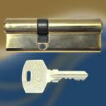 Цилиндровый механизм ключ-ключ со смещенным центром N70 30/40 МТР