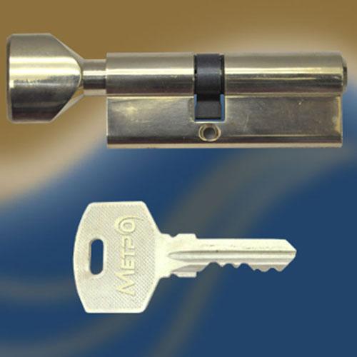 Цилиндровый механизм ключ-вертушка со смещенным центром NW70 30/40 МТР