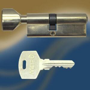 Цилиндровый механизм ключ-вертушка со смещенным центром NW80 35/45 МТР