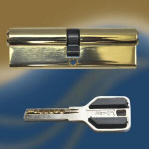 Цилиндровый механизм перфоключ-перфоключ C60 МЕТРО