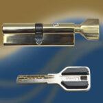 Цилиндровый механизм перфоключ-вертушка CW80 МЕТРО