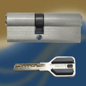Цилиндровый механизм перфоключ-перфоключ со смещенным центром C70 30/40 МТР