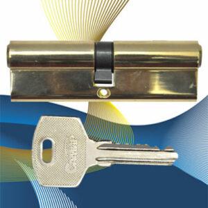 Цилиндровый механизм ключ-ключ N60 САМИР