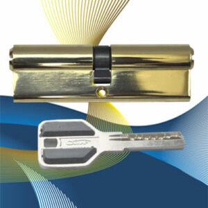 Цилиндровый механизм перфоключ-перфоключ C60 САМИР