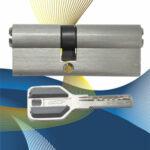 Цилиндровый механизм перфоключ-перфоключ со смещенным центром C80 (35-45) СМР