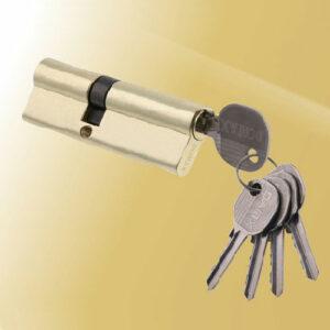 Цилиндровый механизм ключ-ключ со смещенным центром N70 30/40 DMX