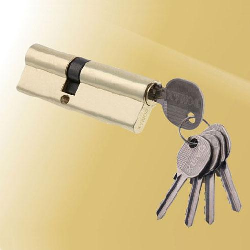 Цилиндровый механизм ключ-ключ со смещенным центром N80 45/35 DMX