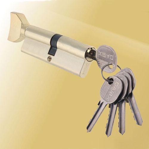 Цилиндровый механизм ключ-вертушка NW80 DAMX