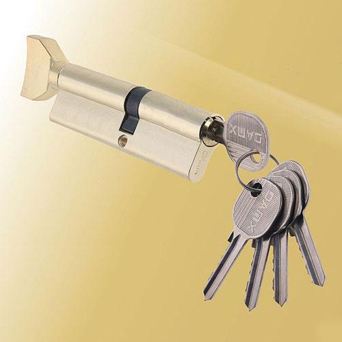Цилиндровый механизм ключ-вертушка со смещенным центром NW80 45/35 DMX