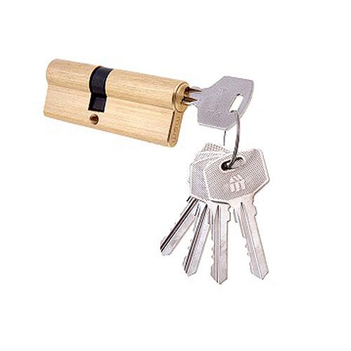 Цилиндровый механизм ключ-ключ со смещенным центром N80 45/35 MSM