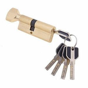 Цилиндровый механизм перфоключ-вертушка со смещенным центром CW100 35/65 MSM
