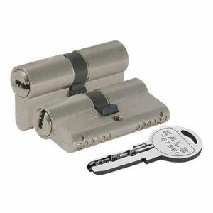Цилиндровый механизм перфоключ-перфоключ со смещенным центром KALE 164 SN68 (26/10/32)