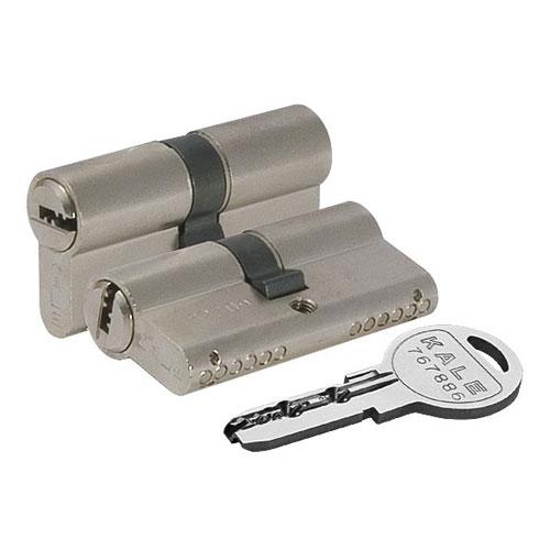 Цилиндровый механизм перфоключ-перфоключ со смещенным центром KALE 164 SN80 (30/10/40)