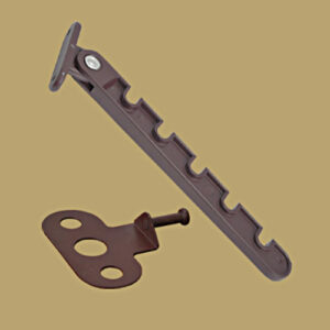 Фиксатор-гребенка оконный 5909 Фиксатор-гребенка металл