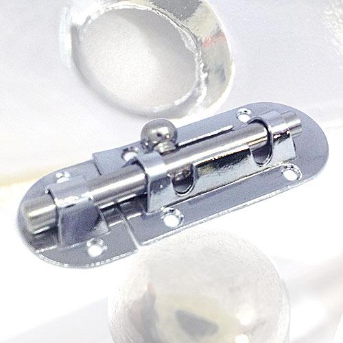 Шпингалет накладной овальный Шпингалет овальный 905-B