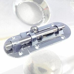 Шпингалет накладной овальный Шпингалет овальный 905-С