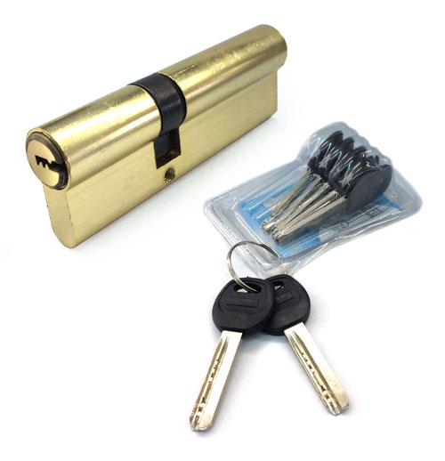 Цилиндровый механизм для комплектов для китайских металлических дверей С90 35-55 ML6860 ЛИЧИНКА