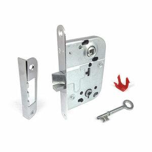 Замок механический для внутренних дверей и дверей туалетных комнат. 2014 ВРЕЗНОЙ ABLOY