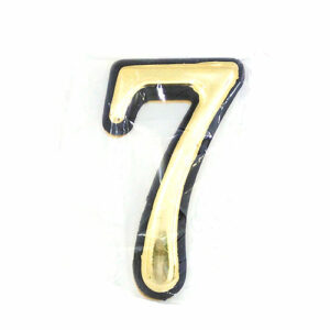 Самоклеящаяся цифра для дверей