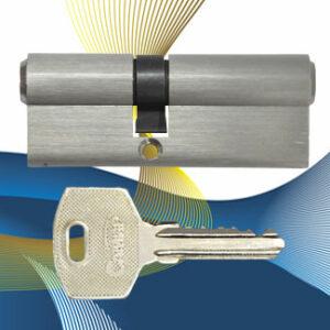 Цилиндровый механизм ключ-ключ со смещенным центром N80 (35-45) СМР