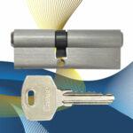 Цилиндровый механизм ключ-ключ со смещенным центром N90 (35-55) СМР
