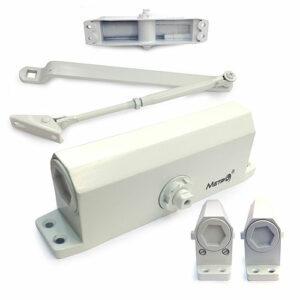 Дверной доводчик верхний с зубчатым приводом МЕТРО D100KG