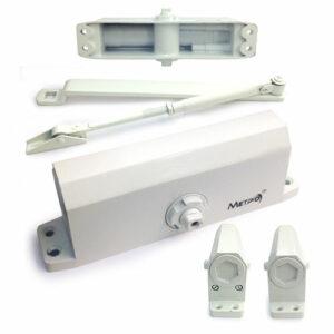 Дверной доводчик верхний с зубчатым приводом МЕТРО D120KG