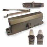 Дверной доводчик верхний с зубчатым приводом МЕТРО D140KG