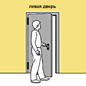 для левых дверей 411A-COM-L САМИР